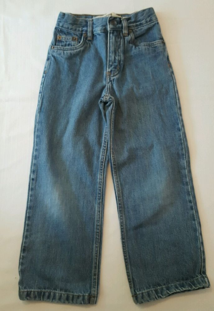 bafbd5ee81 Boys Route 66 Classic/Straight Blue Jeans Size 7 Slim 7S #23 | Boys ...
