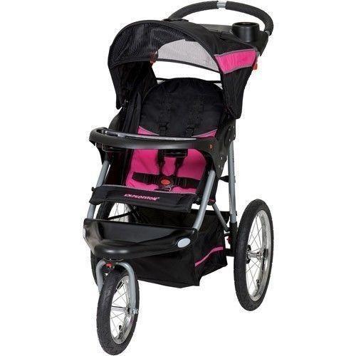 Jogging Stroller  baby trend Expedition Swivel Jogger Pink #BabyTrend