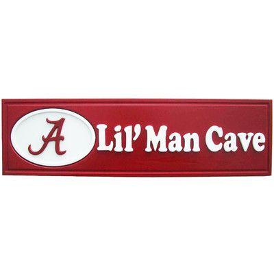 Ncaa Lil Man Cave Graphic Art Plaque Man Cave Plaque Man Cave Signs Alabama Room