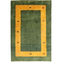 Gabbeh Persisch Teppich 204x302 Perserteppich