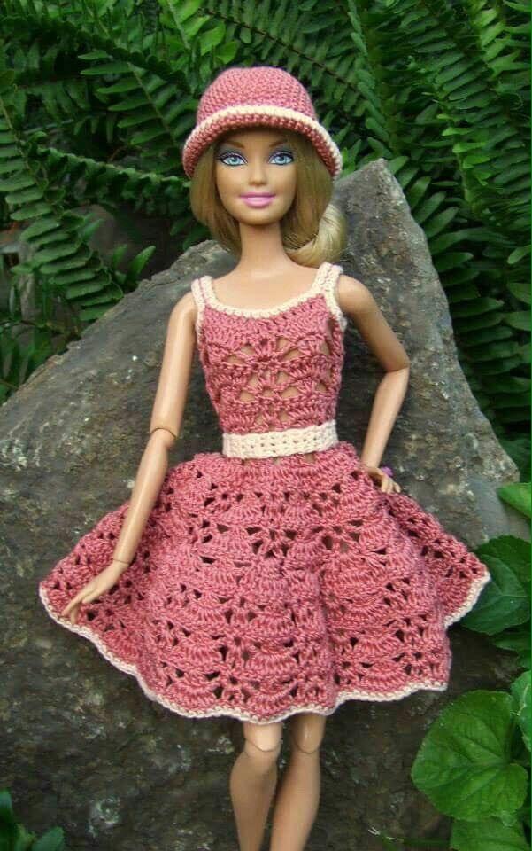 Pin von Barbara Gehrmann auf Barbie | Pinterest | Barbie kleider ...