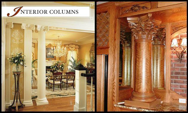 Interior Columns | Interior Fiberglass U0026 Wood Columns | Melton .