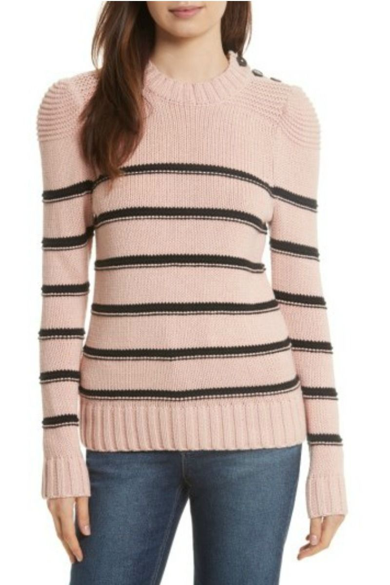 b2a554b23bd803 Cute striped wool sweater. #fashion #style #womens #affiliate ...