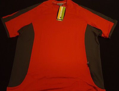 123bb543d Mens Smartwool Betasso Bicycle Jersey for Cycling - Orange - X-Large5 Size  - XL