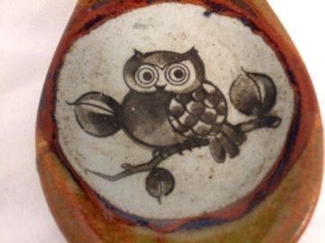 Vintage Owl Spoon Rest