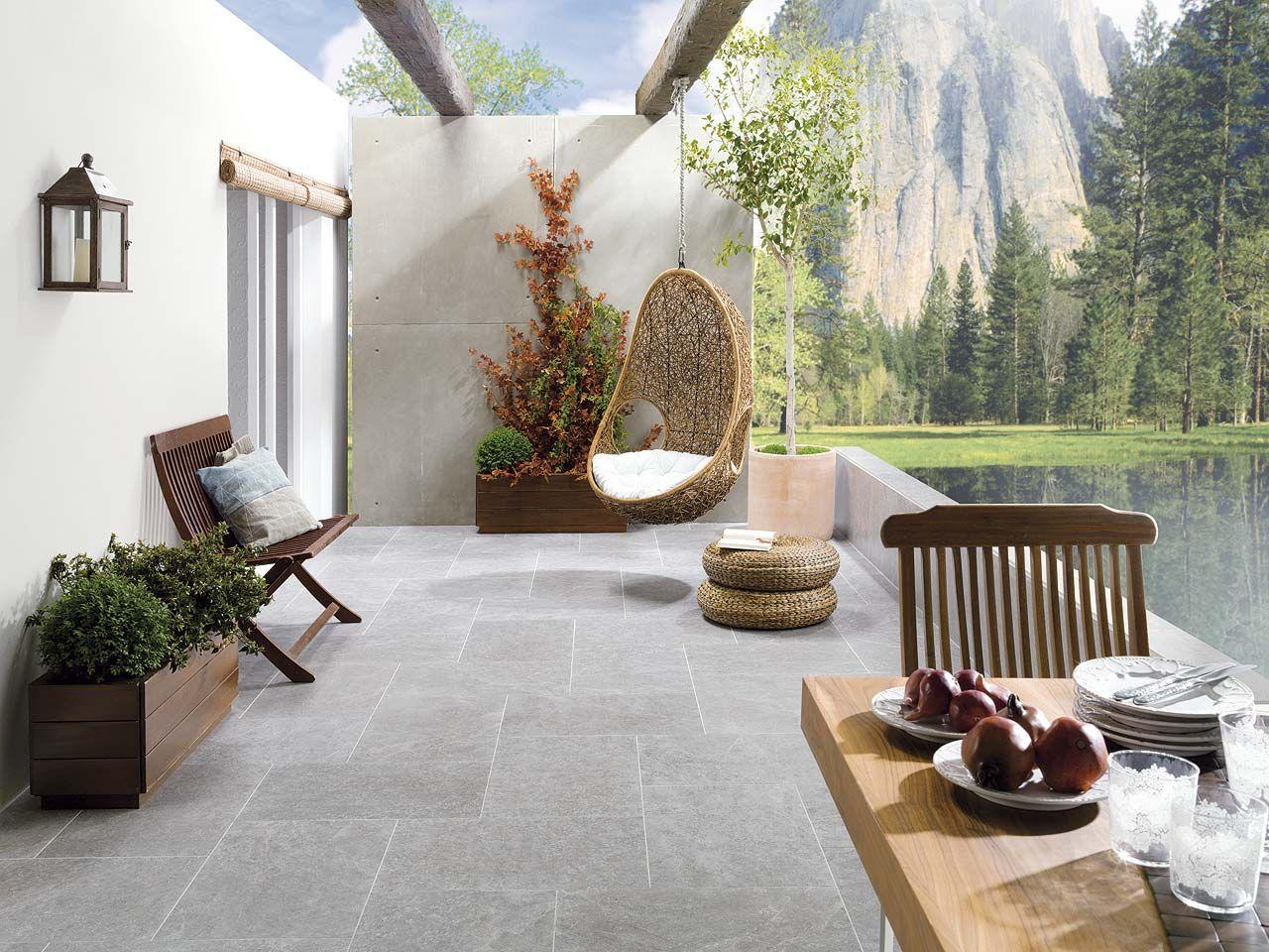 Pavimentos antideslizantes de porcelanosa para pisos y m s - Suelo antideslizante exterior ...