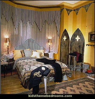 gothic style decorating ideas-gothic themed bedrooms & gothic style decorating ideas-gothic themed bedrooms | Condo ...