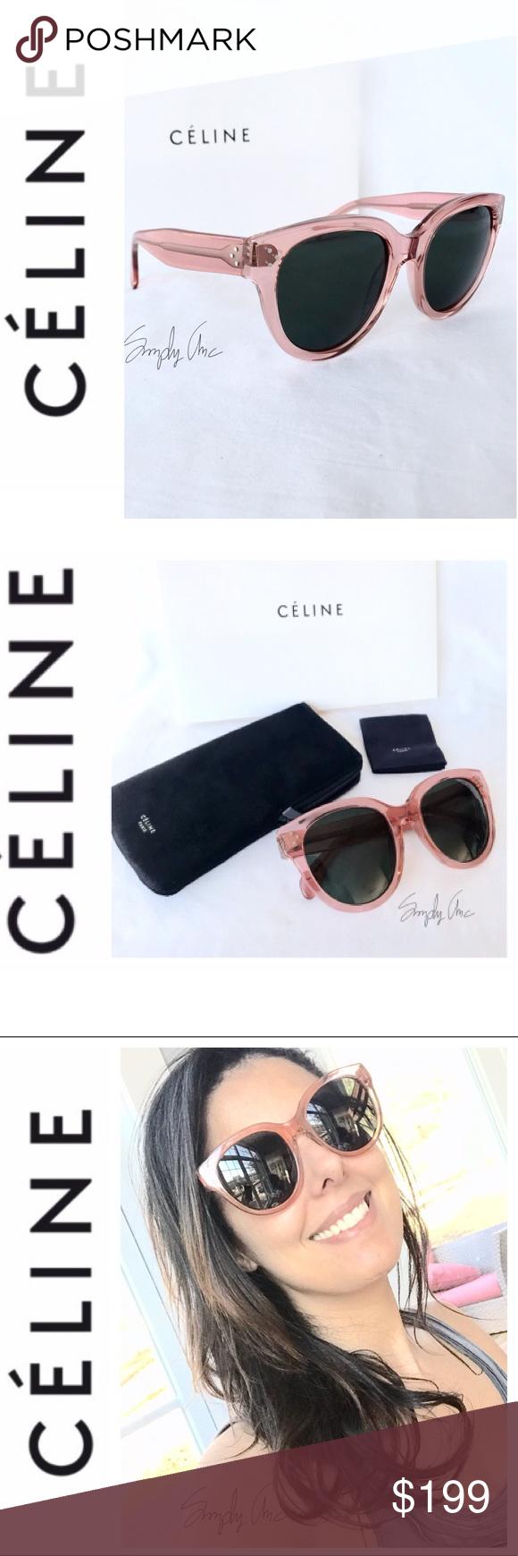 09c08ec6f4 Super Chic Celine Fabulous Audrey sunglasses blush Spotted on many  celebrities