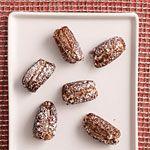 Goat Cheese and Chocolate-Stuffed Dates Recipe   MyRecipes.com