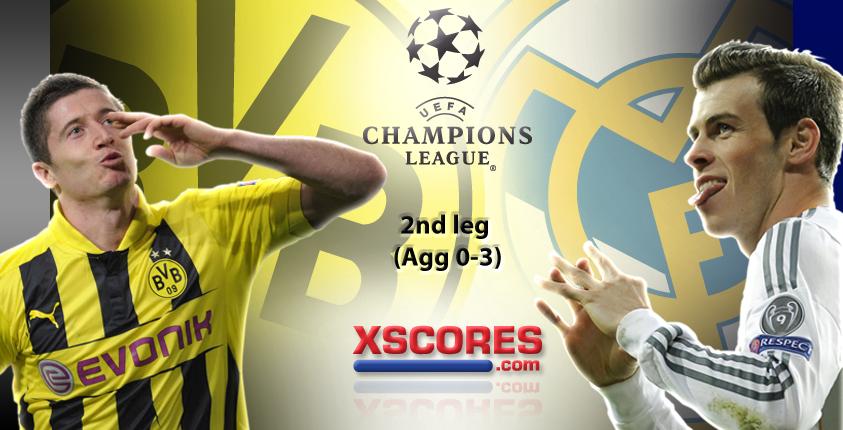 Dortmund Vs Real Madrid At Bvb Stadion Dortmunt Champions Legues Livescore Resuslts Www Xscores Com Dortmundrealmadrid Bv Dortmund Champion Real Madrid