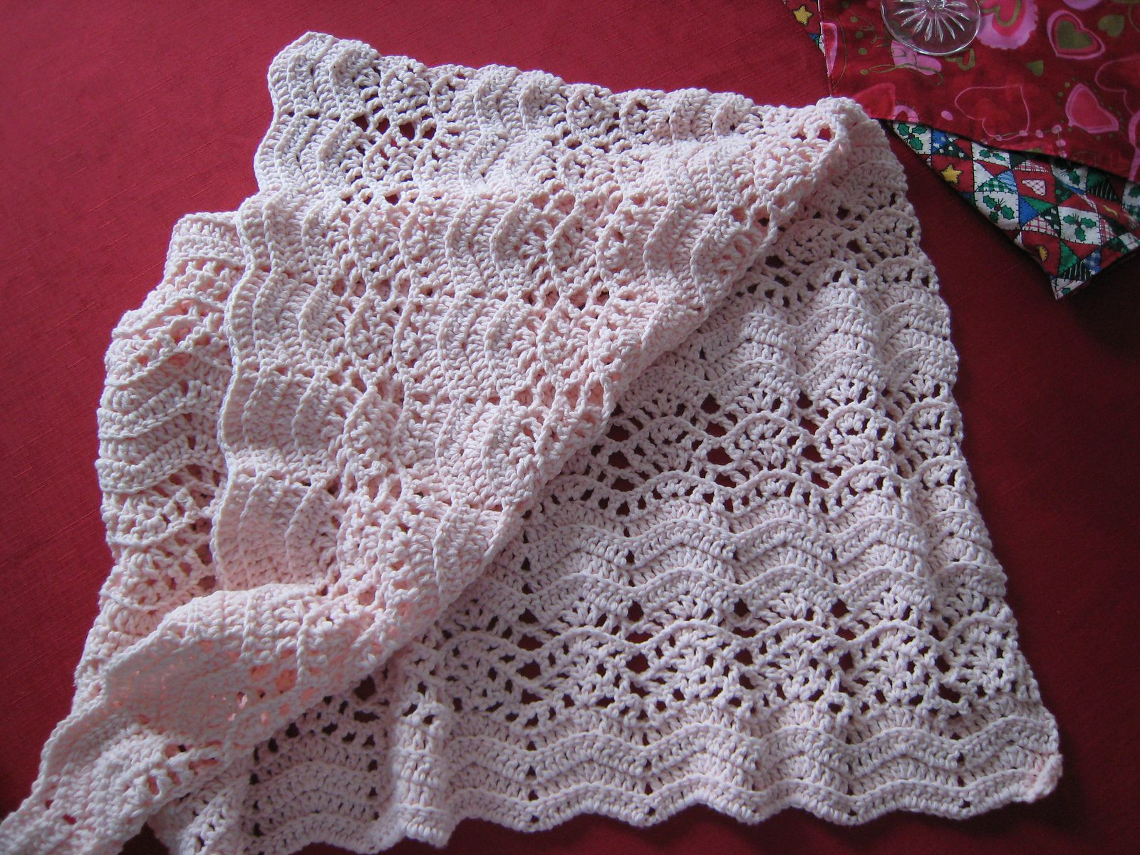 Lace Ripple Afghan Pattern By Coats Clark My To Do List