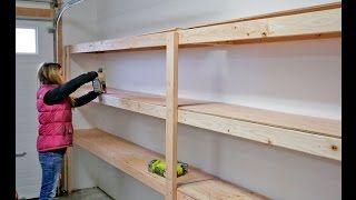 Garage Shelving Ideas Ann White Garage Storage Shelves Diy Garage Shelves Basement Shelving