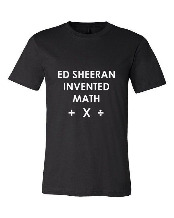 Ed Sheeran Plus Multiply Divide Muscle Tee Tshirt By