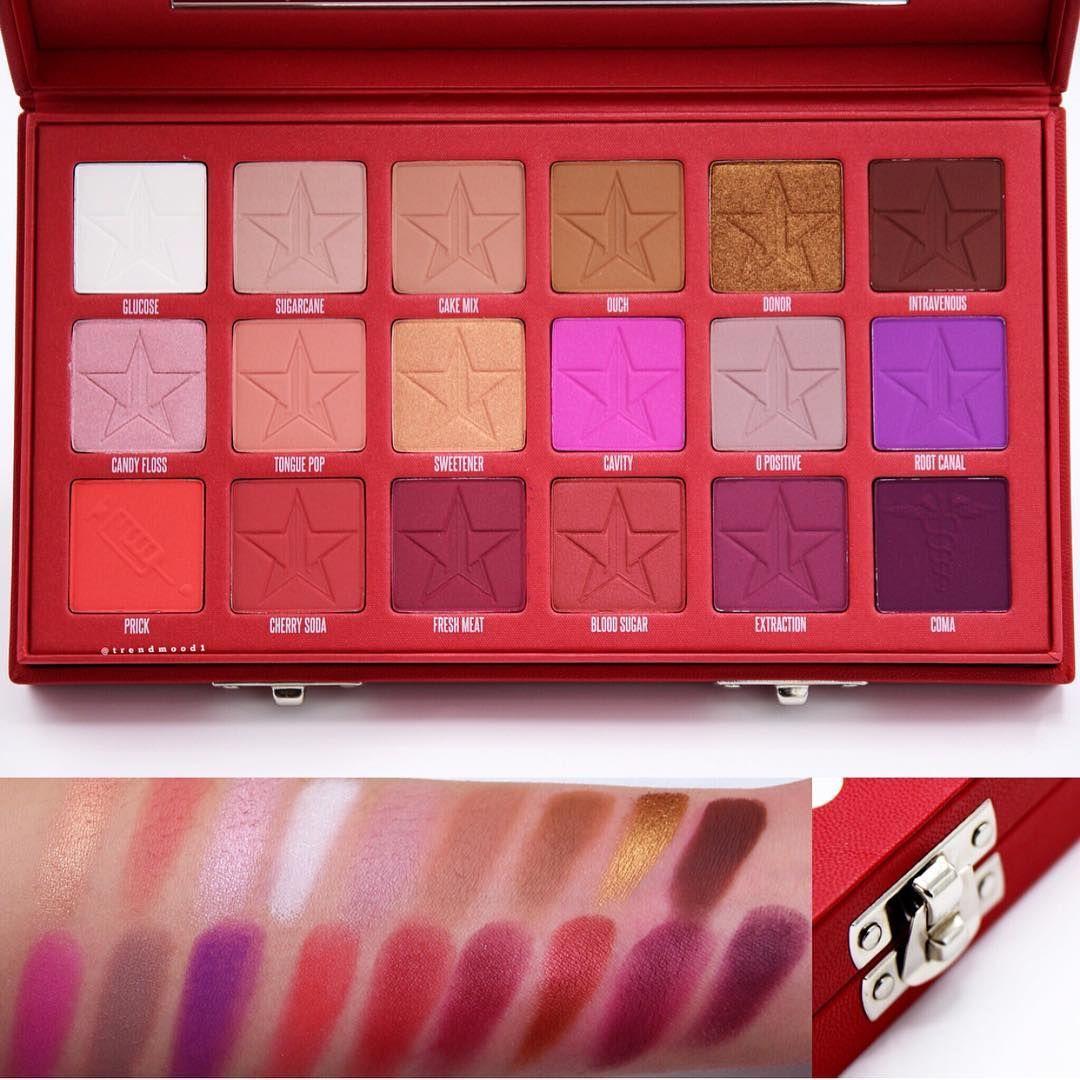 » Jeffree Star Cosmetics Blood Sugar Lidschatten Palette
