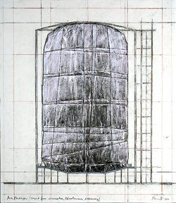 Wolfgang Volz: Big Air Package    Christo & Jeanne Claude: Project for the Gasometer Oberhausen 2013