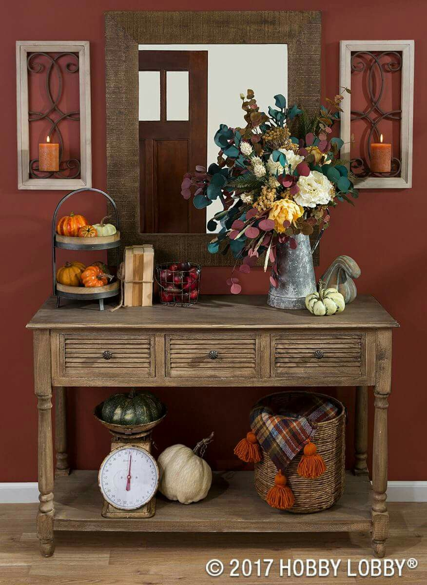 Fall decor Home decor Pinterest Fall decor and Thanksgiving - Hobby Lobby Halloween Decorations