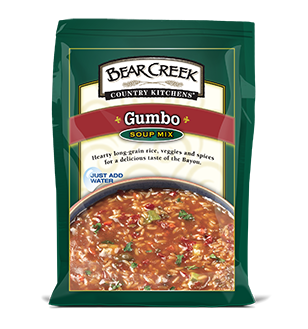Gumbo. An authentic Louisiana favorite. This hearty Bear
