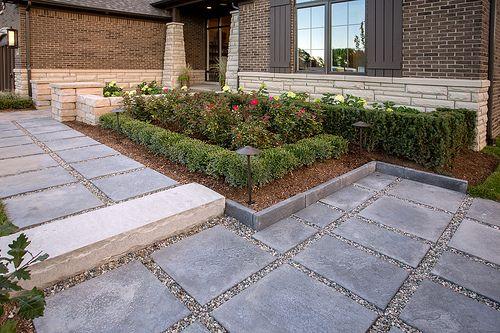 patio slabs concrete paver patio