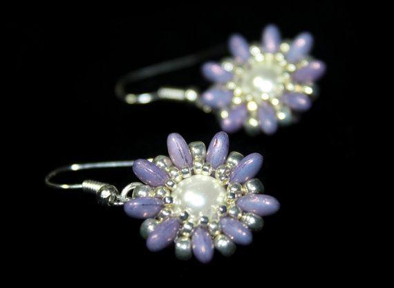 *P Kit for Tutorial Earrings Spring Blossom by JuJuJewelleryUK, £8.50