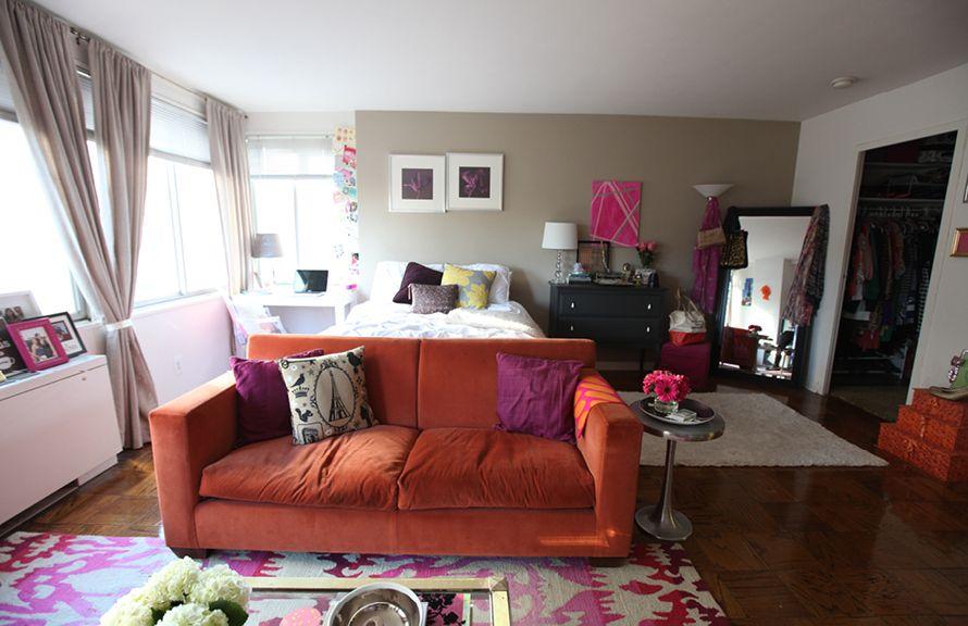 House Tour Nikki Rapport S Girly Studio Apartment Studio