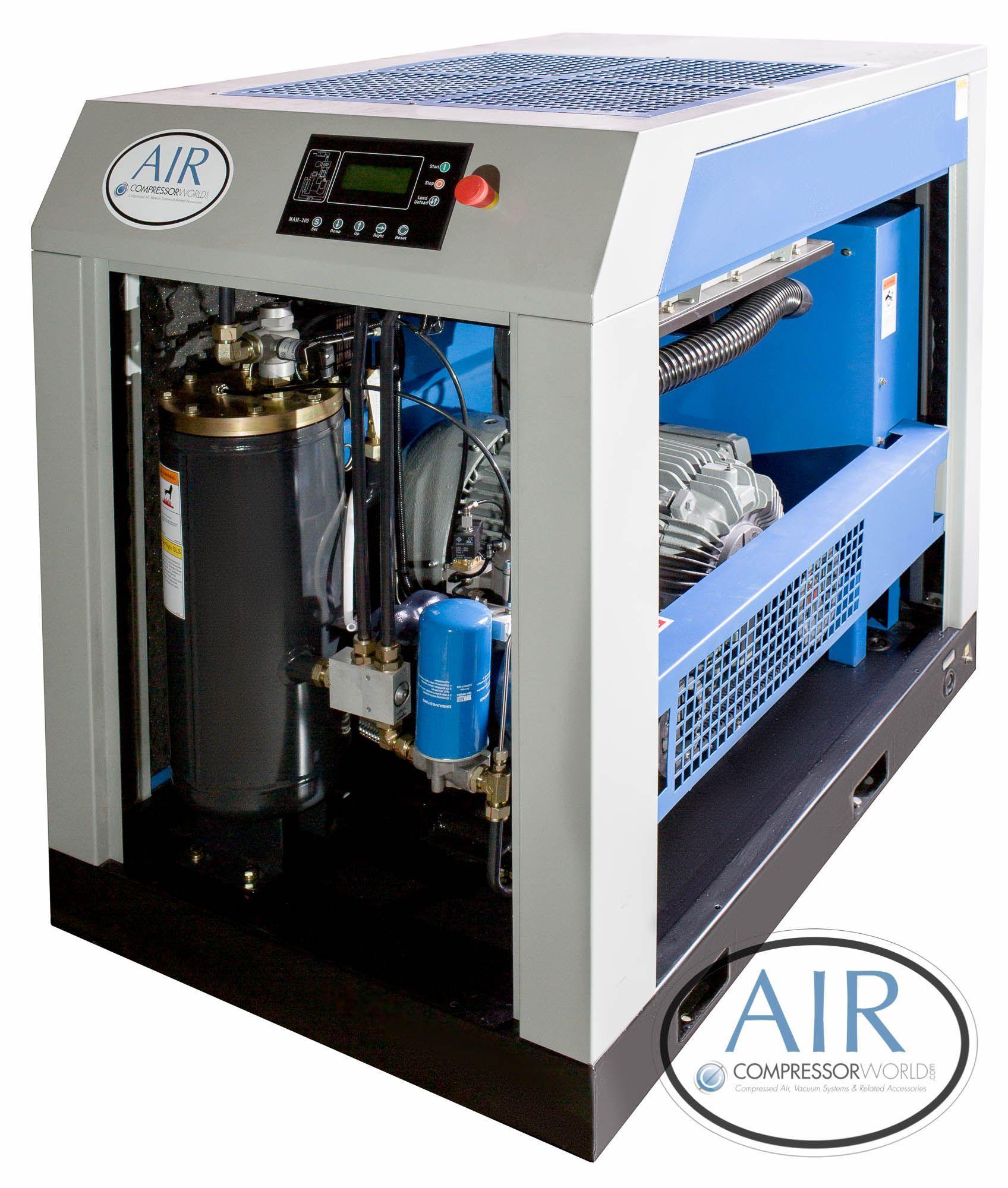 50 Horsepower Rotary Screw Air Compressors 460/3/60 200