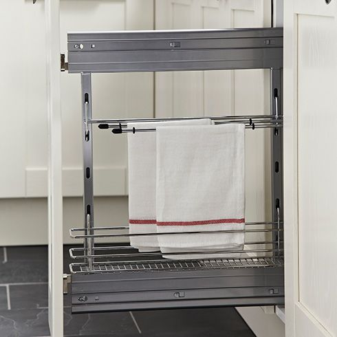 Keep Tea Towels Out Of Sight But Easily Accessed In Your Kitchen
