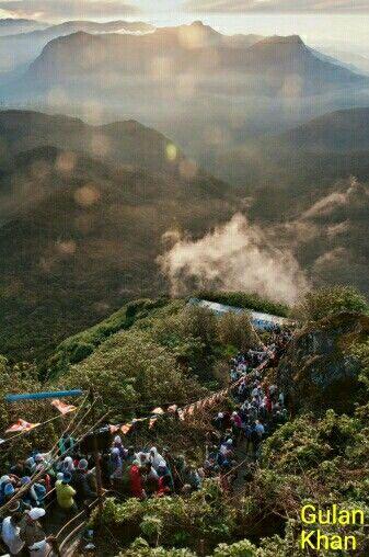 Superb View Wonderful Nature Beauty Of Adms Peak Ella Sri Lanka Adam S Peak Sri Lanka Hill Country