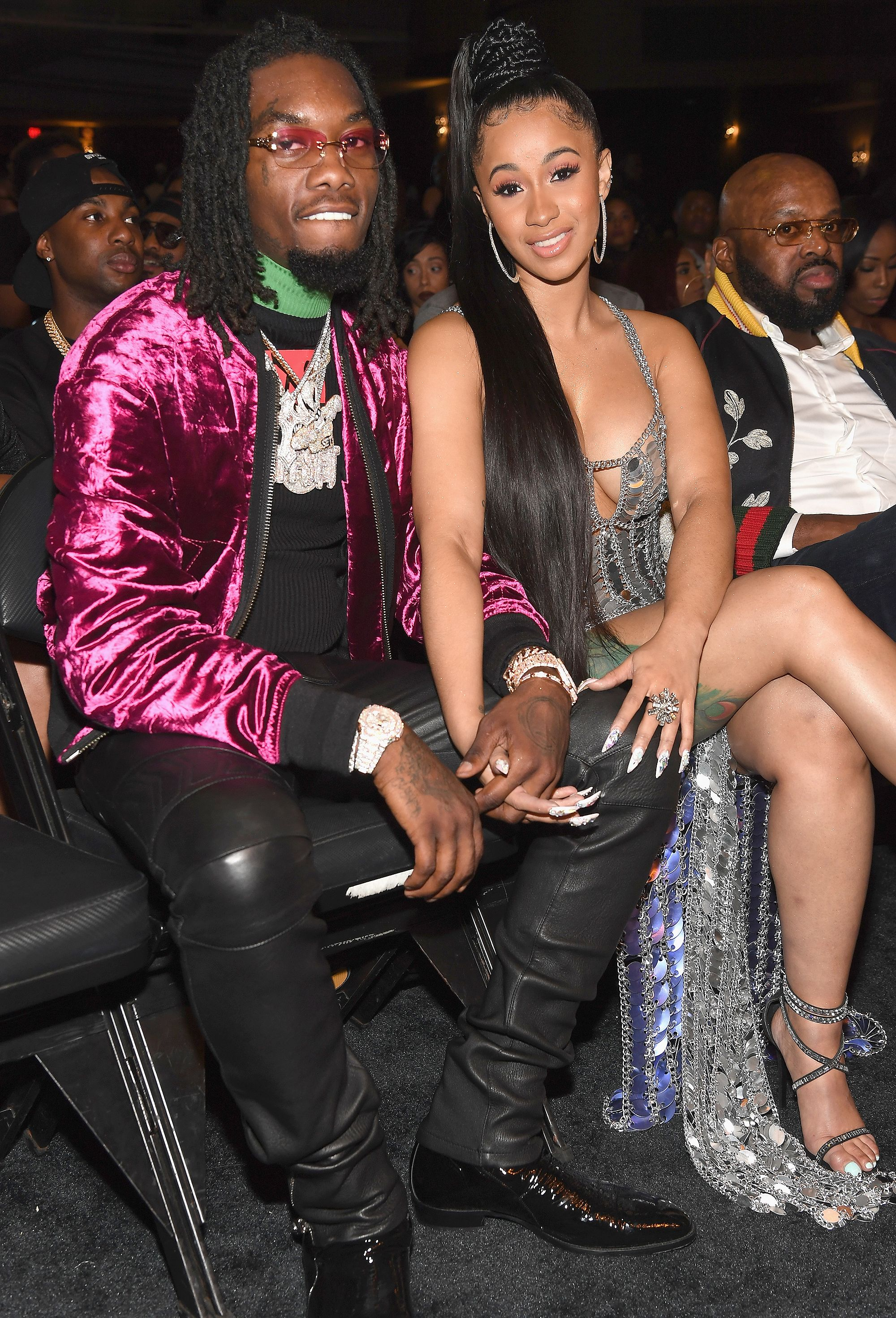 Cardi B Reveals Baby On The Way With Fiancé Offset During