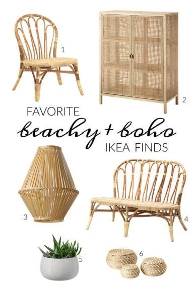 Favorite Beachy Boho Ikea Finds