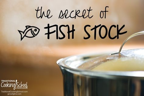 """The Secret of Fish Stock 