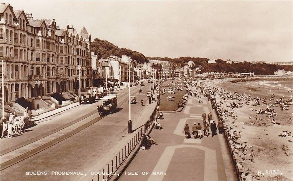 Queen's Promenade - early 1950s | Inglewood, Isle of man, My island