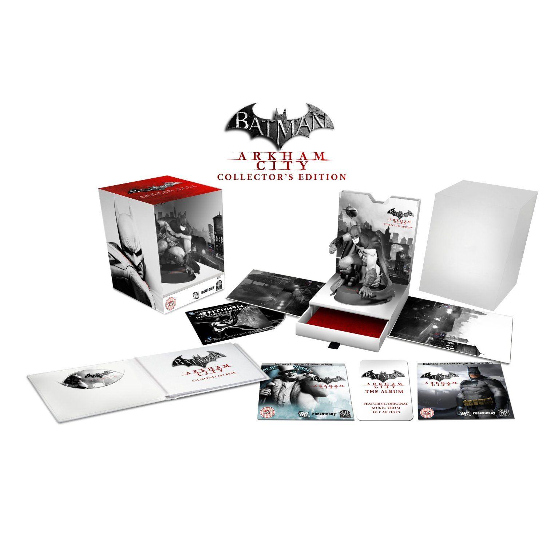 I want this ....  Batman Arkham City Collectors Edition XBOX 360