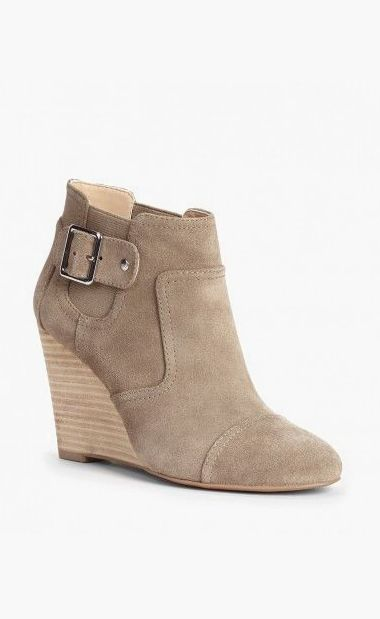 49b3f48d0cd Women s Fennel Suede 3 1 2 Inch Wedge Bootie. Love booties!