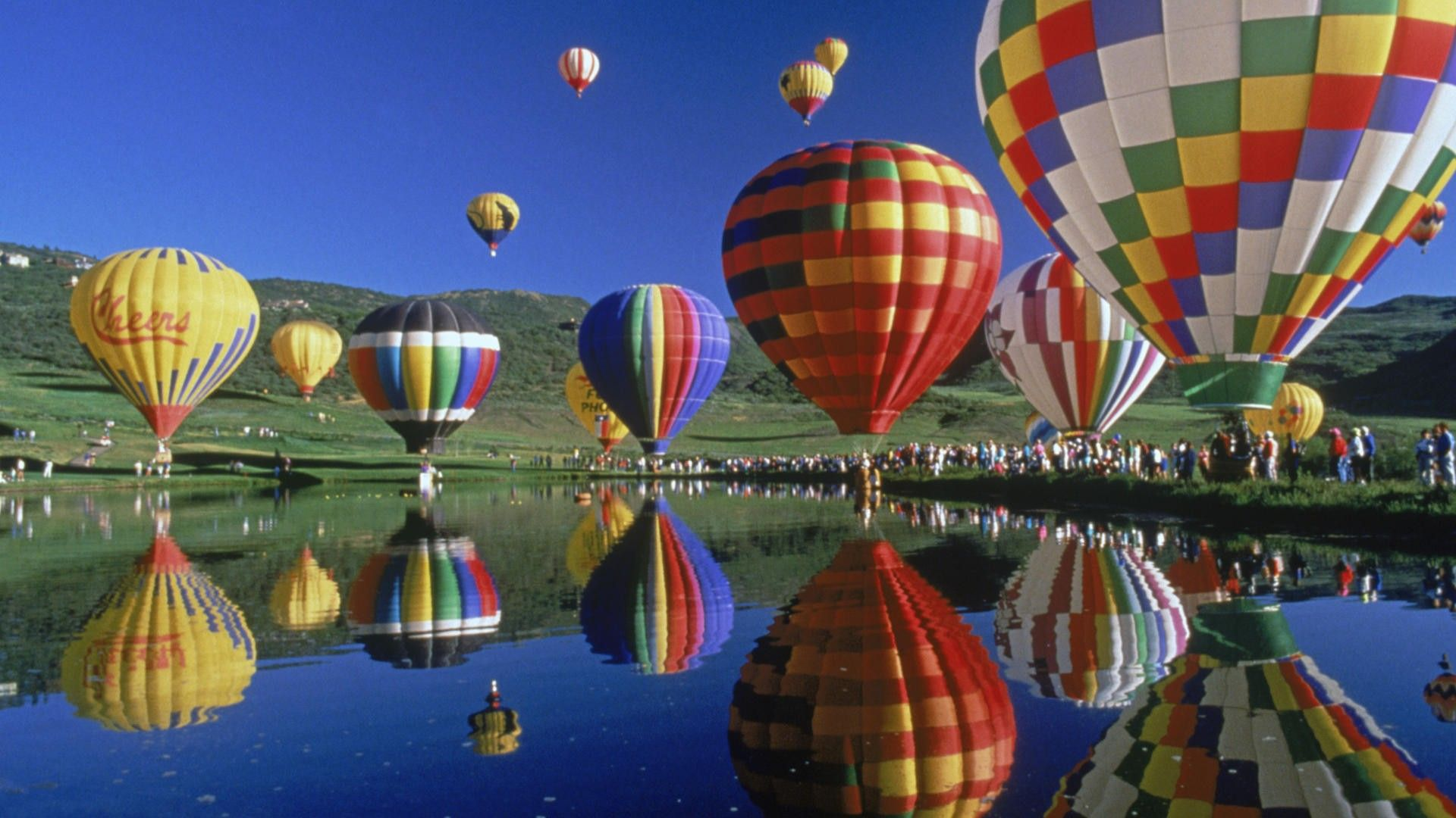 картинки на рабочий стол воздушные шары на весь экран автор