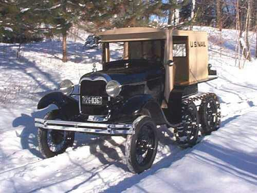 Model T Ford Half Track Truck Makes Me Smile Personally I D