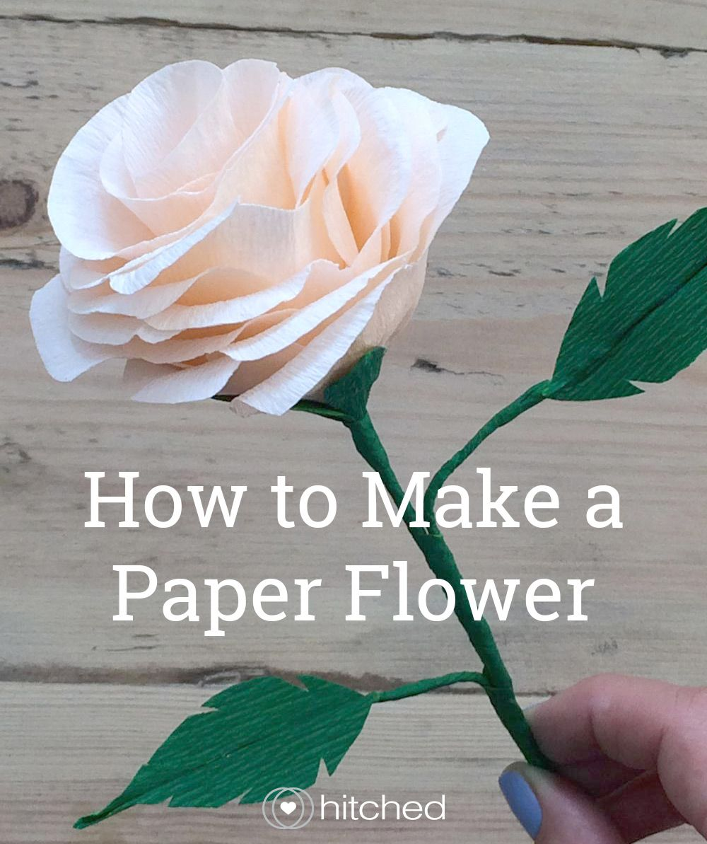 how to make paper flowers for your wedding flower wedding
