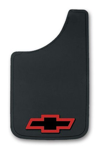Chevy Red  Bowtie Easy Fit Mud Guard  11  Set of 2 ** You can get additional details at the image link.