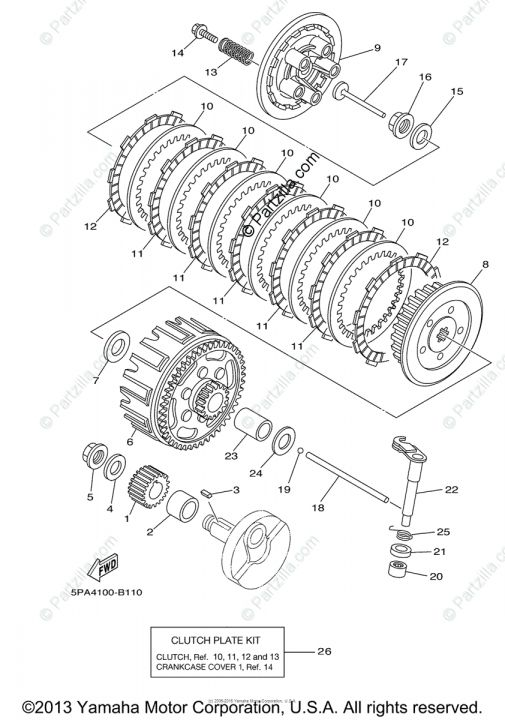 18 Motorcycle Clutch Assembly Diagram