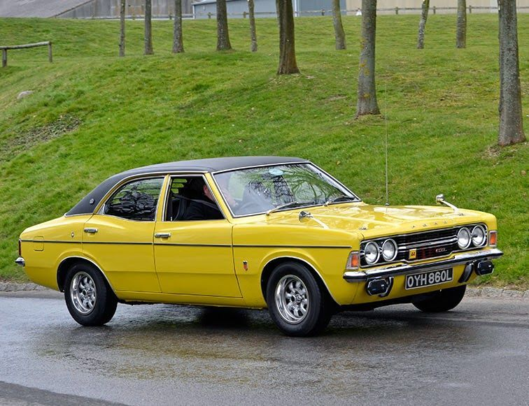 1972 3 Ford Cortina Gxl Mark 3 I Had A Blue One Of These Loved