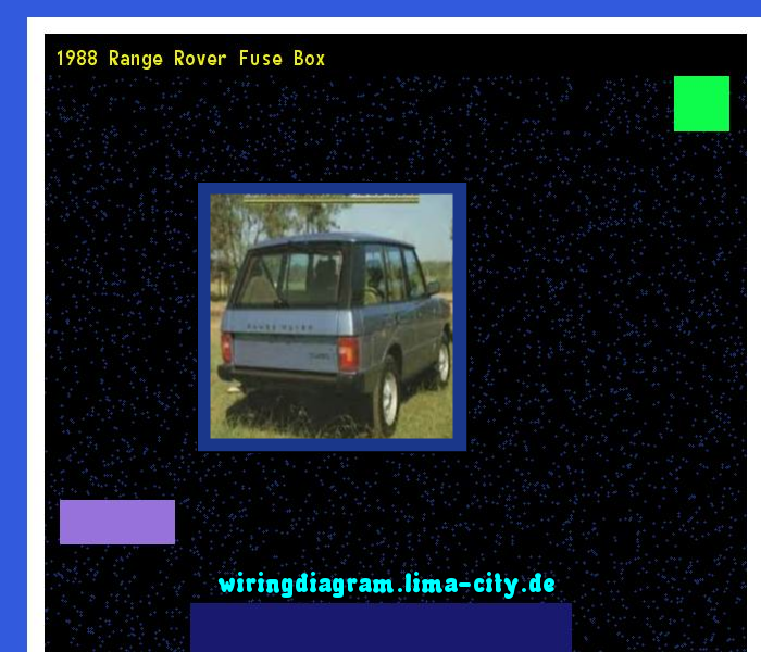 1988 Range Rover Fuse Box Wiring Diagram 1845 Amazing Rhpinterest: 2001 Range Rover Fuse Box Diagram At Gmaili.net