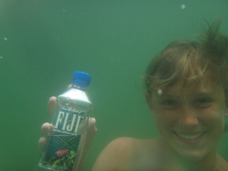 #lake #fijiwater #swimming