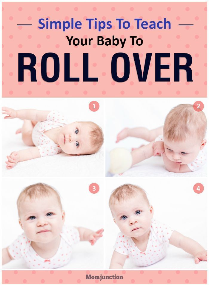 When Do Babies Roll Over And Tips To Encourage Them | Baby ...