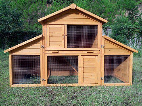 Kaninchenstall Kleintierhaus Hasenstall Kleintierkafig Nr 01