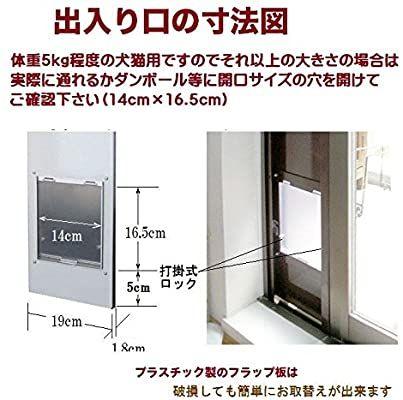 Amazon   Window Panel Cat Door-SS Type [850~1250] Made of steel   …