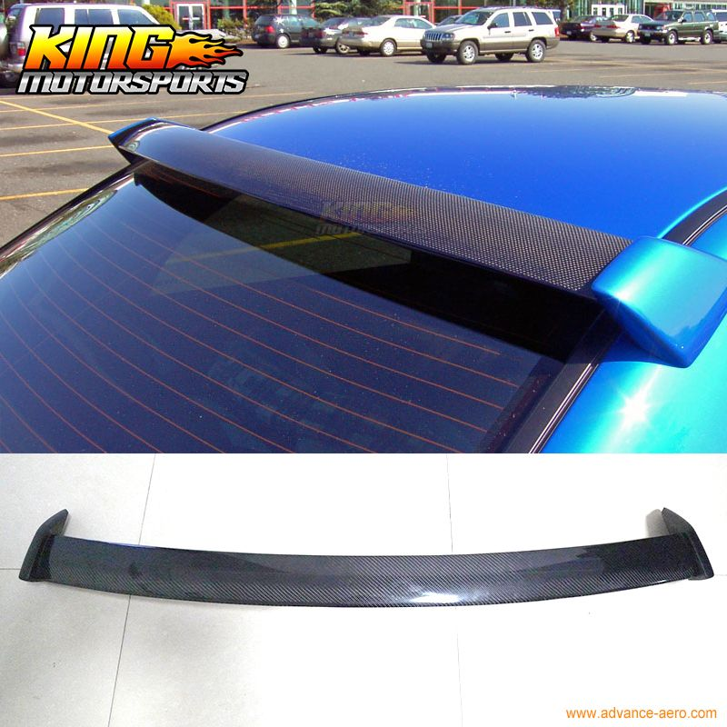 2002 2007 Carbon Fiber Roof Spoiler Wing W Frp For Subaru Impreza Wrx 4dr New Subaru Impreza Impreza Wrx