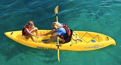 Amazon com: Ocean Kayak 11-Feet 11-Inch Peekaboo Classic Sit-On-Top