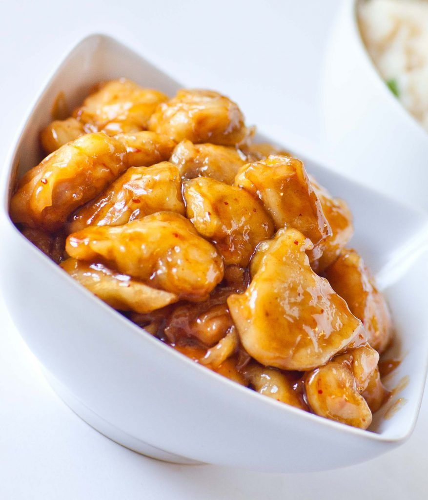 Classic Chinese Orange Chicken - Tatyanas Everyday Food #chineseorangechicken Classic Chinese Orange Chicken - Tatyanas Everyday Food #chineseorangechicken