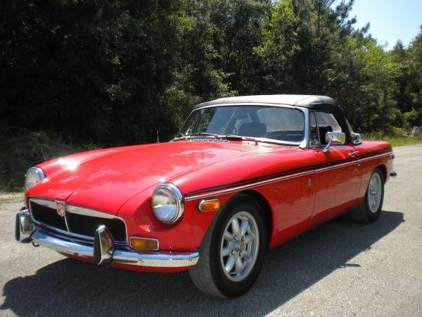 1973 MGB Roadster - $7,950 Jacksonville, FL #ForSale # ...