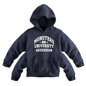 Disney Monsters University 4-Arm Hoodie for Boys | Disney StoreMonsters University 4-Arm Hoodie for Boys - Scare-up compliments in the quad wearing this 4-arm pullover hooded fleece jacket with the official Monsters University logo and collegiate lettering, for the educated monster in all of us.