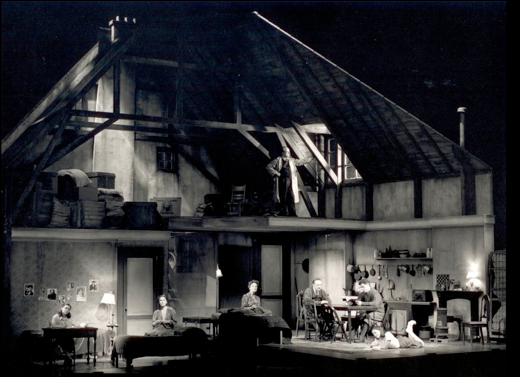 The Diary Of Anne Frank Scenic Design By Adrianne Lobel
